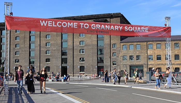 Granary Square Opening