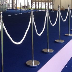 Ropes, Posts, Rails and Hangers