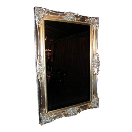 Large Mirror Ornate Mirror Antique Gold Silver 1 450x450 1 Event Hire Professionals