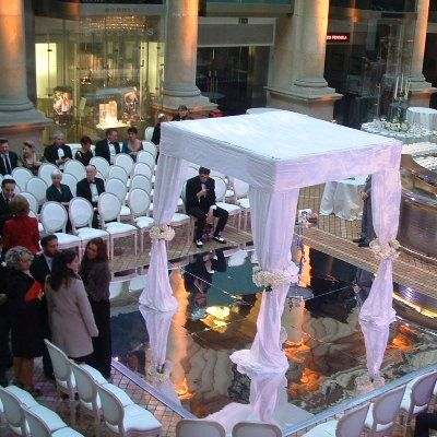 Mirror dance floor hire london