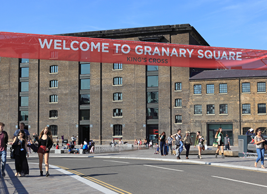 Granary Square Opening
