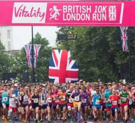 The British 10k Run