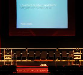 UCL: Graduations